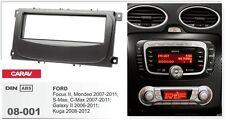 CARAV 08-001 1Din Kit de instalación de radio FORD Focus II S-Max C-Max 07-11