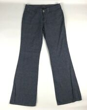 """Joes Jeans Womens Chambray Pants 27 Heather Blue Pockets Bootcut Inseam 32"""""""