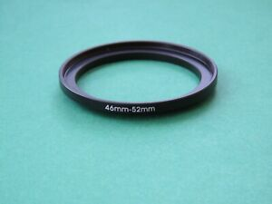 46mm-52mm Stepping Step Up Male-Female Filter Ring Adapter 46mm-52mm