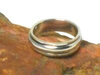 Sterling Silver 925 Spinner RING / Band - 6 mm -  Gift Boxed