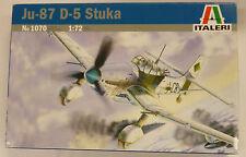 Italeri 1/72 Ju-87 D-5 Stuka Model Kit # 1070