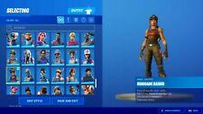 STACKED FORTINITE ACCOUNT - RAFFLE - (BLACK KNIGHT, RENEGADE RAIDER)