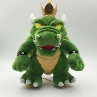 Super Mario King Koopa Bowser Plush Toy Stuffed Animals Doll 12 inch