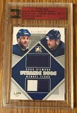 Wendel Clark Doug Gilmour ITG Ultimate Archives Jersey 1/1 - Toronto Maple Leafs