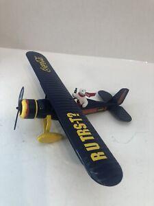 Polar Bear Coca Cola Die Cast Bi Plane Lockheed F601 Ertl