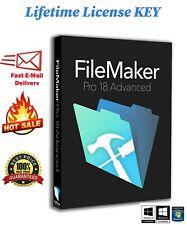 FileMaker_Pro_18_Advanced✅ Instant delivery ✅ 🔑LIFETIME LICENSE Key🔑
