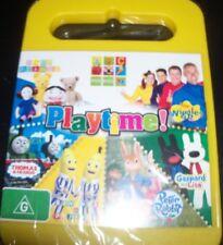 Playtime ABC Kids (Wiggles Thomas Play School Gaspard) (Aust Reg 4) DVD – New