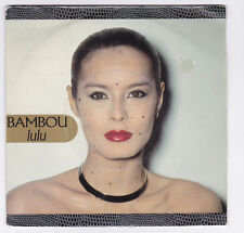 45 TOURS SP BAMBOU chante GAINSBOURG LULU PHILIPS 888 086 en 1986