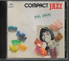 CD COMPIL 16 TITRES--NINA SIMONE--COMPACT JAZZ
