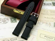 22mm Silicon Rubber Diving Watch Strap Black Fit Any Watch 22mm