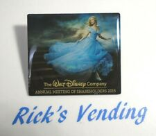 Disney Cinderella Annual Meeting of Shareholders 2015 Pin Exclusive