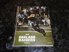1968 Oakland Raiders Yearbook-Only YB every issued by the Oakland Raiders-rare