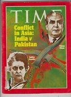 Time Magazine Yahya Khan Indira Gandhi December 6, 1971 110619nonr