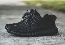 """New Black 3M Rope shoe laces 45"""" For YEEZY boost Adidas Asics NMD Fieg"""