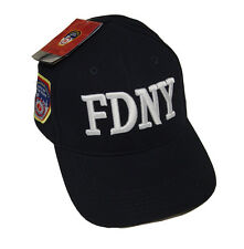 FDNY CLOTHING APPAREL EMBROIDERED BASE BALL HAT CAP