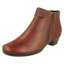 Stivali e stivaletti da donna rossi cerniera , Numero 42