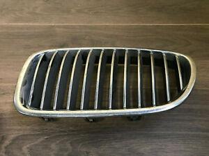 BMW F10 F11 5ER Rein Calandre Grille Décorative À L'Avant Gauche Chrome 7200727