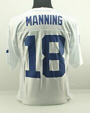 4XL PEYTON MANNING 18 Indianapolis Colts NFL Team Apparel Football Jersey White