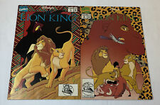 1994 Marvel/Walt Disney comics THE LION KING #1 and 2 ~ FULL SET