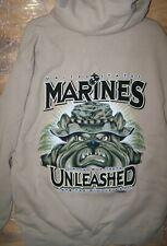USMC Unleashed Sweatshirt Hoodie - Men's Size Extra Large - FREE Shipping