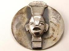 Fabulous Art Deco Egyptian African Queen Black American Brooch