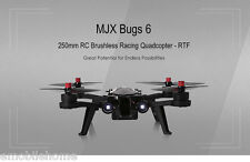 MJX Bugs6 250mm RC Brushless Racing Quadcopter RTF Two-way 2.4GHz Transmitter
