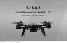MJX Bugs6 250mm RC Sans brosse Course Quadriorotor RTF Deux sens 2.4GHz