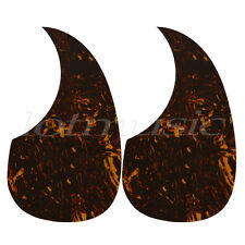2pcs Tear Drop Acoustic Guitar Pickguard Adhesive Guitar Parts