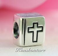 1652a4e10d5ed Authentic Pandora Bible Charm 790261 Jesus Church Cross Bracelet ...