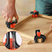 90° Right Angle Corner Clamp Clip Fixer Ruler Clamp Woodworking Hand Tools