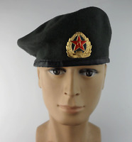 Chinese Army Military Special Forces Wool Beret Green Type 07 Cap Hats Size  L