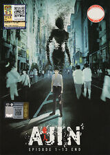 Ajin: Demi-Human DVD Complete 1-13 (Japanese Ver) Anime - US Seller Ship Fast