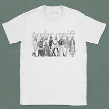 Taylor Swift Eras White Short Sleeve T-Shirt Tee Limited Edition New Preorder L