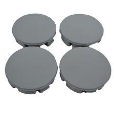 Wheel Center Hub Centre Caps Gray Set 4 Pcs 57/53mm Universal Skoda Vw Bmw K03g