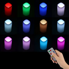 Remote Control 18Key LED Realistic Flickering Wax Candles light &CR2032 Battery