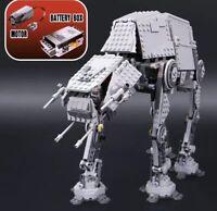 AT-AT de STAR WARS con Motor. 100% completo. Compatible con LEGO 10178. Nuevo.