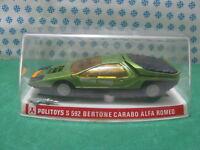 Vintage  -   ALFA ROMEO CARABO BERTONE   -  1/25  Politoys-S 592 - MIB