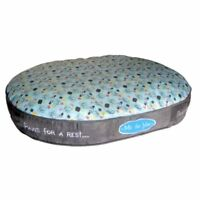 Pet Brands Me to You Super Soft Oval Pet Dog Bed, Small
