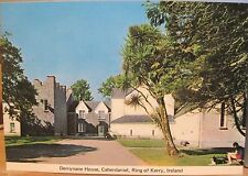 Irish Postcard DERRYNANE HOUSE Caherdaniel Kerry Ireland Daniel O'Connell Home