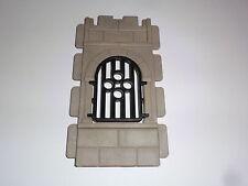 Playmobil Ritterburg Mauer Stein Aussparung Fenster Gitterfenster 3666 3450 3445