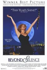 BEYOND SILENCE Movie POSTER 27x40 Sylvie Testud Tatjana Trieb Howie Seago