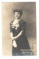 Russian REAL PHOTO Opera Singer Maria Dolina AWARDS Vintage Photo Postcard /123