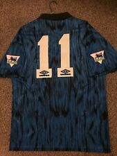 MANCHESTER UNITED VINTAGE 1992/93 AWAY SHIRT ADULTS(M) 11
