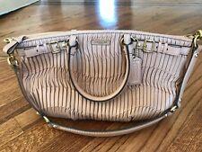 NWT COACH Madison Sophia Gathered Leather Purse/Handbag in Light Beige Colour