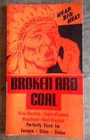 David City Nebraska NE Vintage Broken Aro Coal Notepad Advertising Collectible