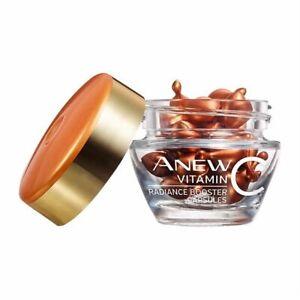 AVON ~ Anew Glow Boosting Vitamin C Capsules - 12 Capsules ~ Brand New Wrapped