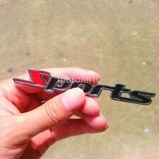 3D Chrome Alloy Sports Word Logo Car Sticker Emblem Badge Decal Auto Suv Decor