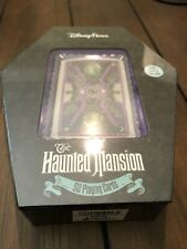 NEW Disney Parks The Haunted Mansion 52 Playing Cards Glow in the Dark