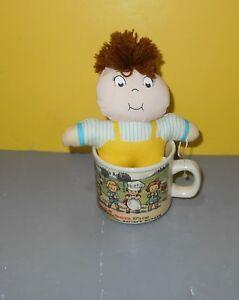 Campbell's Soup Kids Ceramic Mug 1910 Souvenir Postcard - Westwood w/ Plush Kid