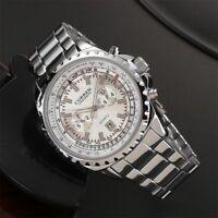 CURREN Fashion Business Men Scale Dial Wristwatch Waterproof Quartz Wrist Watch